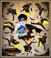 Dick Grayson - 1st Robin Tribute by La-maldita