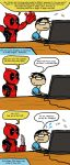 The Real Reason Movie Deadpool by JINAO
