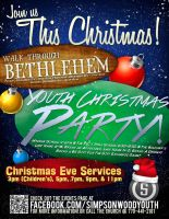 Youth Christmas Season Flyer by Treybacca