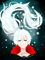 Weiss (RWBY) by MarchBunny