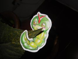 Paperchild 48. Pokemon #10 - Caterpie by FuriarossaAndMimma