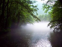 Has a blue river... by sometimes-dark-blue
