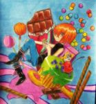 Mello and Sweets by cheetah1990