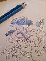Glaceon [wip] by Abz-Art