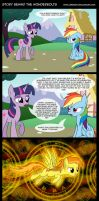 Story Behind the Wonderbolts by Jrenon