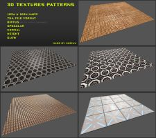 Free 3D textures pack 04 by Nobiax