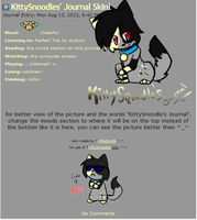 KittySnoodles Journal Skin by Kitzophrenic