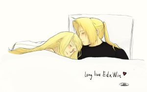 Edward and Winry Tribute by ObsessedByDaydreams