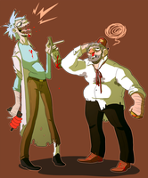 Gross Old Men by mellow-monsters