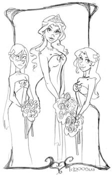 The Wedding Party - HP by lberghol
