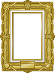 Resource: Golden Frame (w/ or w/o Cutie Marks) by Colonel-Majora-777