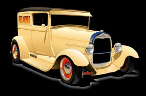 1929 Sedan Delivery by kenpoist