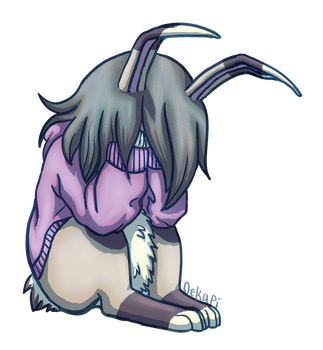 Sad Bun by Oekapi