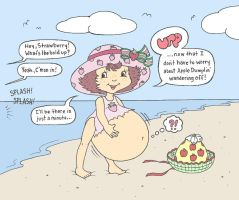 Strawberry Shortcake Vore by brain3times3
