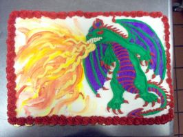 Dragon Cake by Starjuice