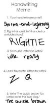 Handwriting Meme by storms-and-lightning