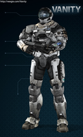 Halo reach look by Fox-Blue