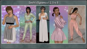 Dynamics for Dawn series over at Hivewire 3d - 2 by Art-by-Lully