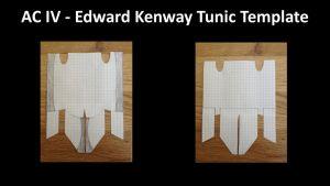 AC IV - Edward Kenway Updated Tunic Template by ConnorKenwayIII