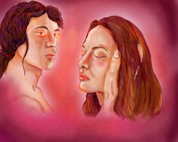 Phedre and Earric by Curtana