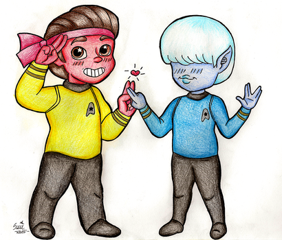 Live long and prosper by suzie-chan