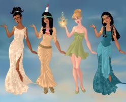 Non/Disney Goddesses - T2 by M-Mannering