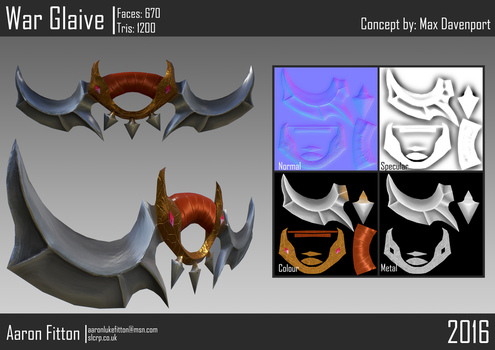 War Glaive by Freelancer95