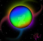 Colorful Planet (Non-animated/No grain effect) by T-Newton