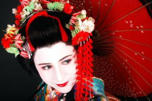 Geisha Jenita by Lady-Lolita