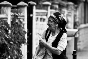 Old lady by rockmylife