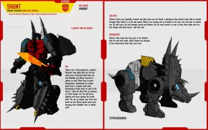 DINOBOT SHUNT by F-for-feasant-design