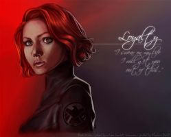 Characters with Character: Black Widow by MandarinSwift