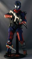 Sideshow Cobra Viper with 1986 version by maulsballs