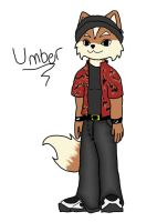 SilverYoshi's Fursona - Umber by Link2262