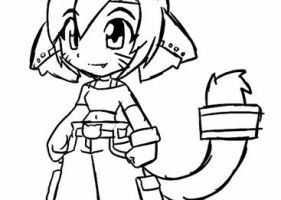 Lara idle animation rough by rongs1234