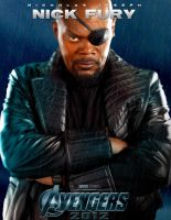 The avengers - Nick fury by agustin09