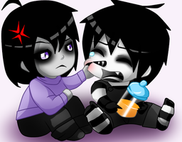 Baby WD and LJ by Eve-Of-Halloween