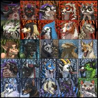 Fall and Winter Icons 1 by Shadow-Wolf