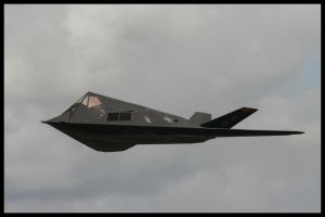 RIAT 2007 - F117 Nighthawk - 1 by HaVoCMaN
