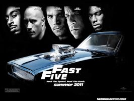 Fast Five Poster by reservoiredwolf