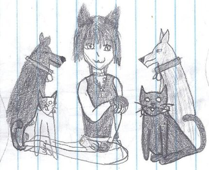 Pets and Me by Chibi1KH2