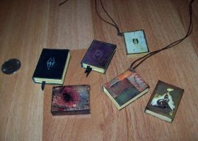 TES: Oblivion and Skyrim - Mini Books by Sereniti-Dragonheart