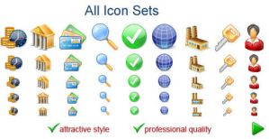 All Icon Sets Demo by fawkesbonfire