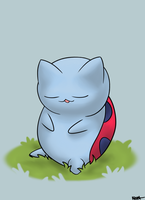 Catbug napping. by NiggaBuySomeApples