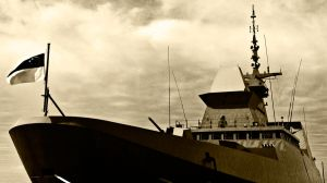Stealth Warship by poondq