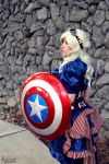 Steampunk Captain America by BluRockAngelCostumes