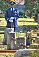 Air Force Funeral at Sleepy Hollow Cemetery 02 by BellonaRose