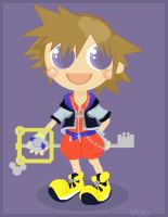 so cute sora by Child-Of-Neglect