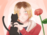 Kenma by goldensaphire