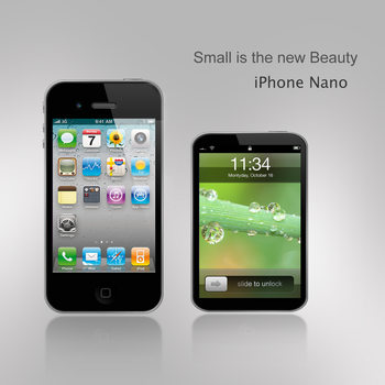 iPhone Nano by DorianDarko